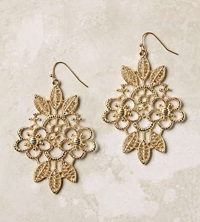 Anthropologie-earrings-Iron-Lace-Drops