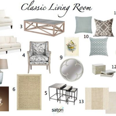 Case Study: Classic Living Room Design