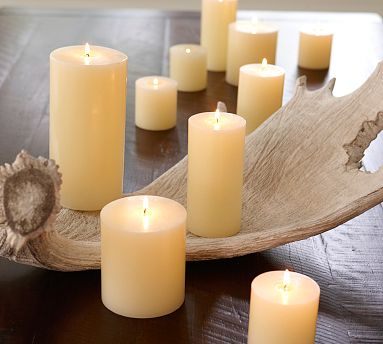Fall Decorating Ideas - Candles from Pottery Barn