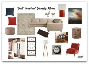 Fall Inspired Family Room final