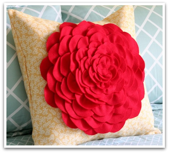 DIY Petal Pillow