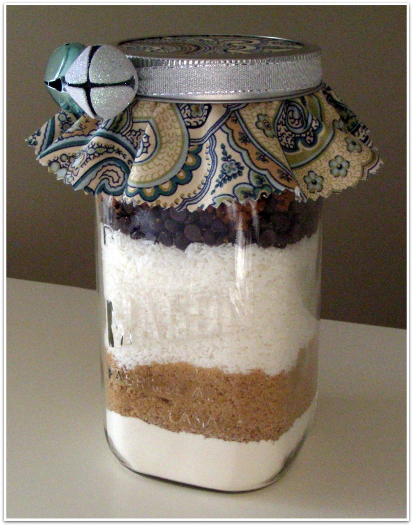 Chocolate Coconut Toffee Cookie Mix- Gift in a Jar