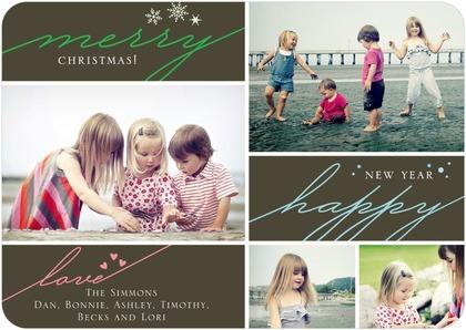 Holiday Card via Tiny Prints
