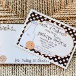 Milk & Cookies Party Invitation- Libby Lane Press