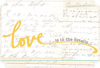 Love is in the details via She Paperie