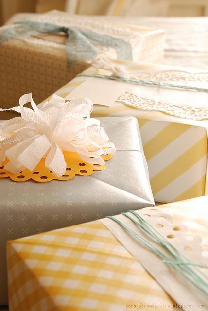 Origami Gift Wrap