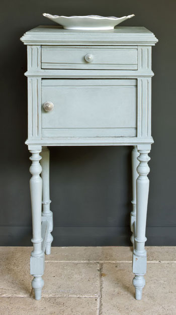 Duck Egg Side Table Annie Sloan