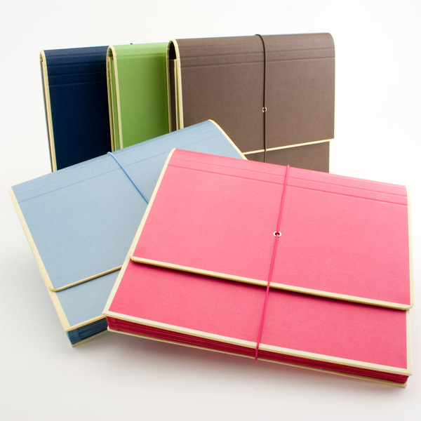 Accordion File Folders from See Jane Work