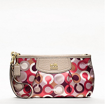Valentine's Day Gift Ideas - Coach Wristlet