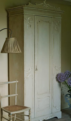 Country Grey Armoire - Annie Sloan