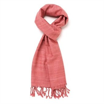 Valentine's Day Gift Ideas - Pink Scarf from Indigo