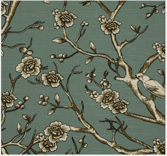 Vintage Blossom Fabric from Dwell Studio