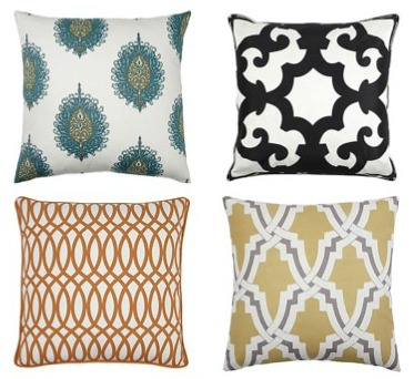 Decorative Pillows from Z Gallerie - Patterned Throw Pillows