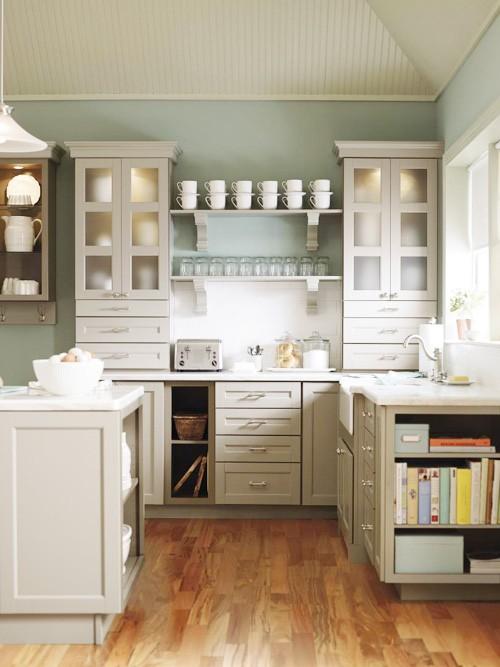 Dream Kitchen- Glass Cabinet Doors