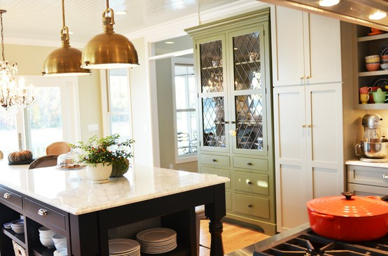 Elements of My Dream Kitchen- Pendants over Island