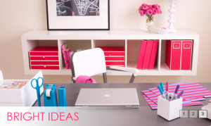 Organizing the Office - Bright Ideas Collection via See Jane Work