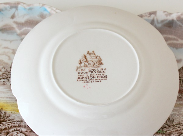 Olde English Countryside Plate
