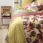 Decorating with florals- bedding from Anthropologie