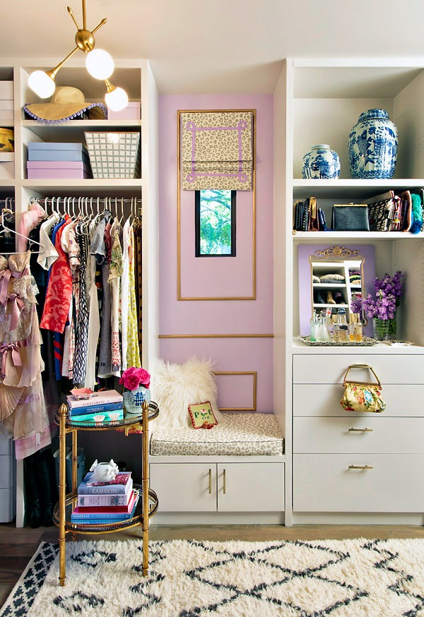 Dressing Room - Walk in Closet - Mimosa Lane
