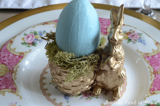 Easter Ideas for Decorating the Table - Amanda Carol at Home