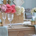 Easter Tablescape by Amanda Carol