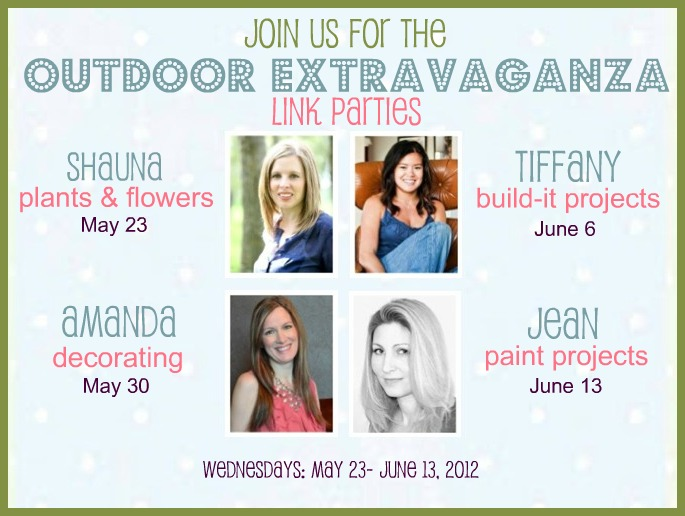 Outdoor Extravaganza Blogger Link Parties