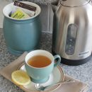 Rearranging for Simplicity - Keep tea collection by the kettle