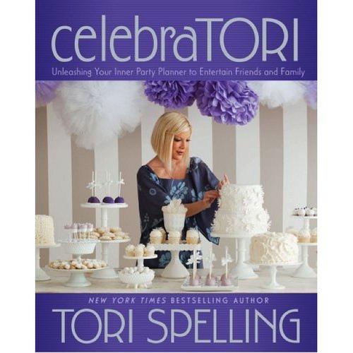 Tori Spelling's celebraTORI Book