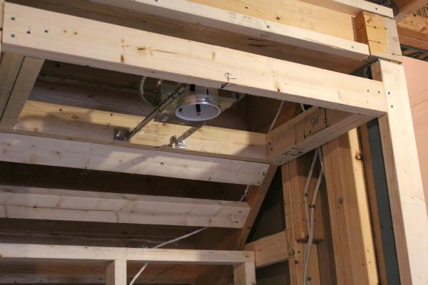 Basement Progress - Recessed Light Installation Above Snack Bar