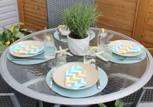 How to Create a Tablescape for Casual Summer Entertaining | Satori Design for Living
