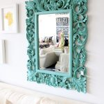 Tiffany Blue Mirror - Photo via Night Moves
