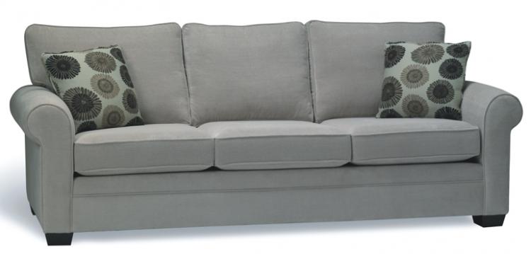 Family-friendly Upholstery Fabrics + Basement Sectional Update