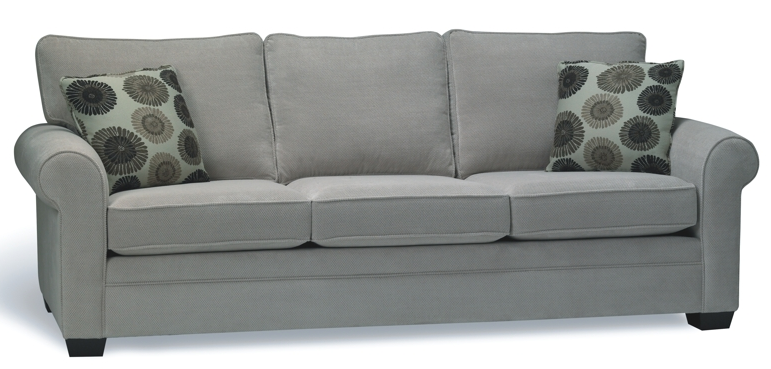 Tofino roll arm sofa by Stylus
