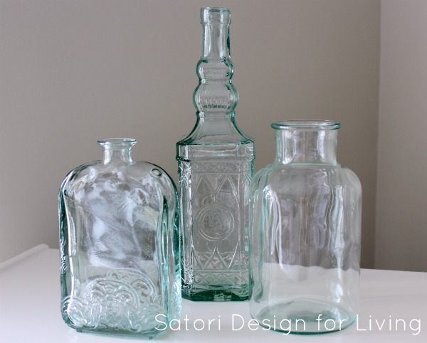 Green Glass Bottle Collection
