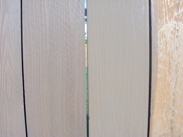 Selecting Fence Stains- Wet vs. Dry