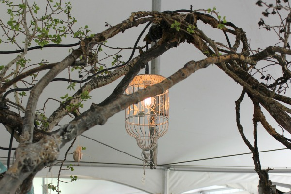 The Vintage Chicks Sale- Birdcage Chandelier