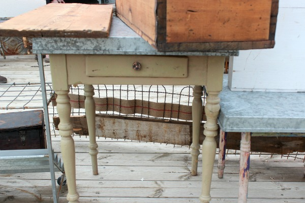 The Vintage Chicks Sale- Vintage Table