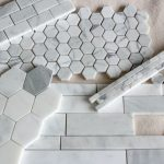 Basement Renovation- Marble Tile Backsplash Options