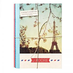Paris Eco Writer's Notebook - Journal