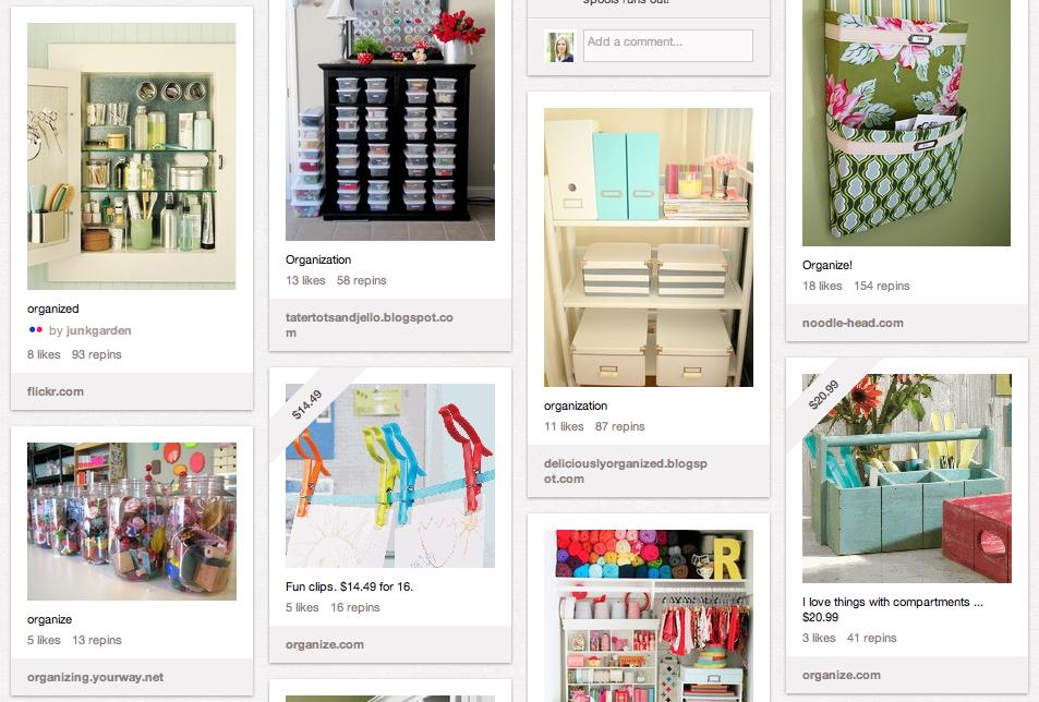 I Heart Organizing on Pinterest