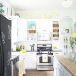 Bloggers' Favorite Paint Colors- Whispering Springs Kitchen by The Handmade Home