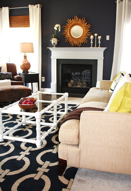 Emily A. Clark's Living Room Paint Color- Stunning by Benjamin Moore