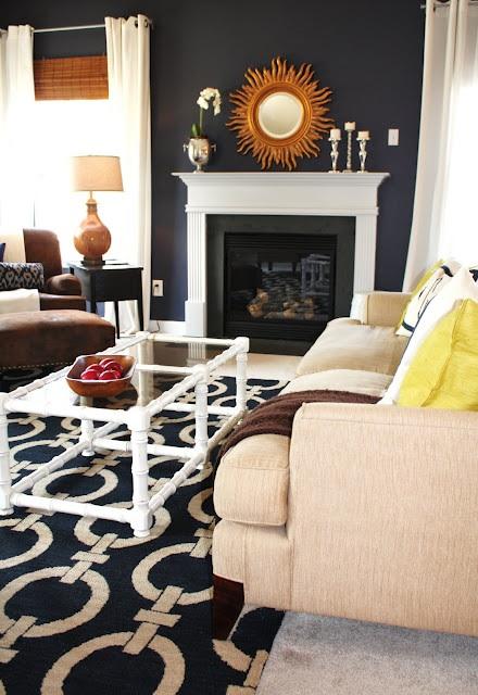 Emily A. Clark's Living Room Paint Color