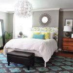 Bloggers' Favorite Paint Colors- Young House Love Bedroom Makeover- Benjamin Moore's Rockport Gray (HC-105)