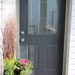 Front Porch Reveal + New Door Color