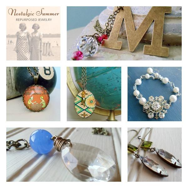 Workspaces That Inspire- Nostalgic Summer Vintage Jewelry Studio