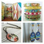 Repurposed Vintage Tin Jewelry