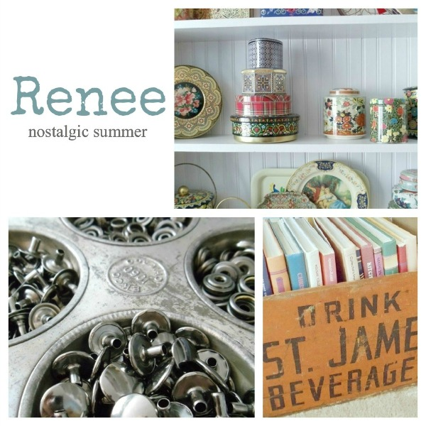 Renee's Inspiring Workspace- Nostalgic Summer Vintage Jewelry Studio