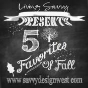 5 Favorites of Fall