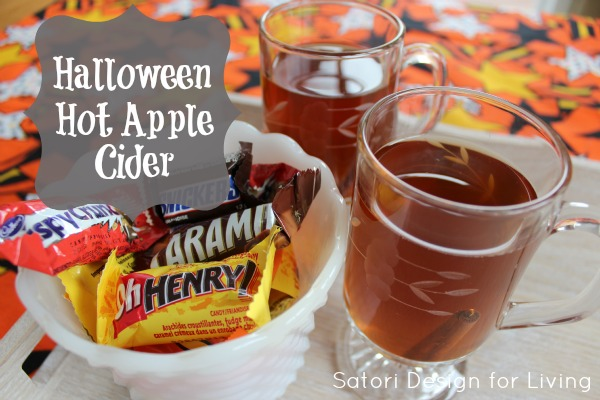 Halloween Hot Apple Cider